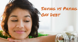 Should I Save or Pay off My Debt?